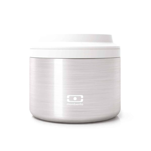 MB Element silver lunch box isotermica