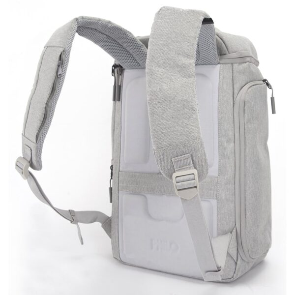 Philo Backpack Zaino intelligente Grigio